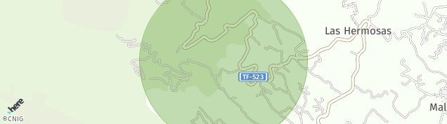 Mapa Arafo