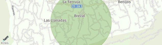 Mapa Las Llanadas