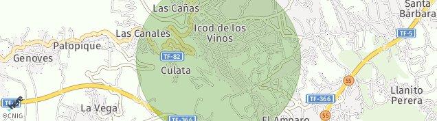 Mapa Icod
