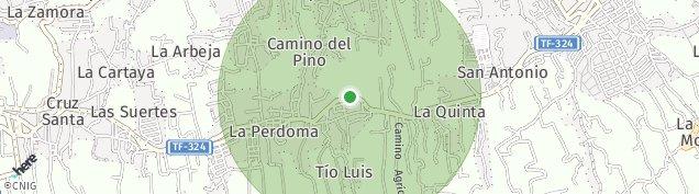 Mapa La Perdoma