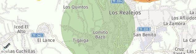 Mapa Realejo Bajo
