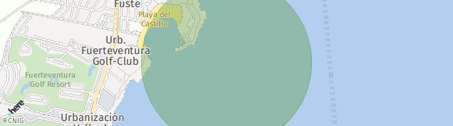 Mapa Caleta de Fuste