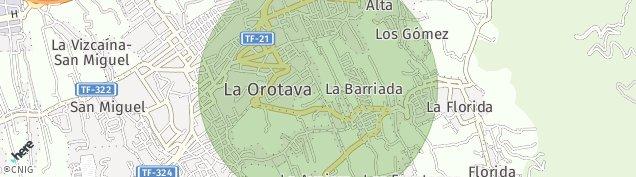 Mapa Parador Las Cañadas