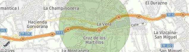 Mapa Las Arenas de Tenerife
