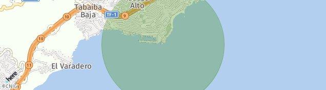 Mapa Radazul