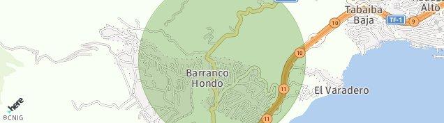 Mapa Barranco Hondo