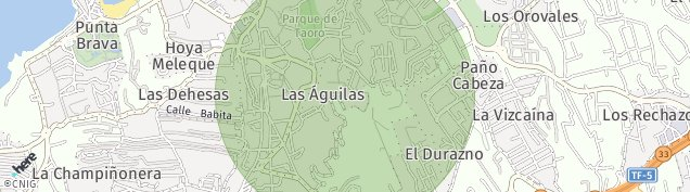 Mapa Puerto de la Cruz
