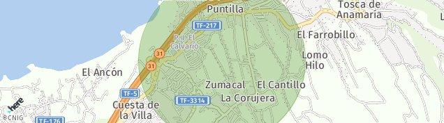 Mapa La Corujera
