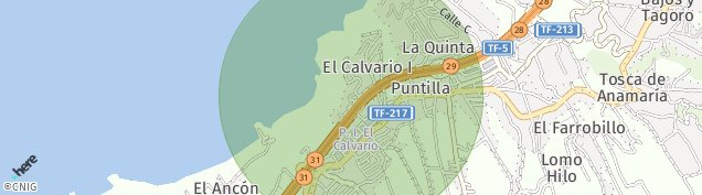 Mapa Santa Úrsula