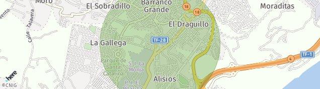 Mapa Alisios