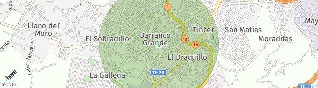 Mapa Barranco Grande