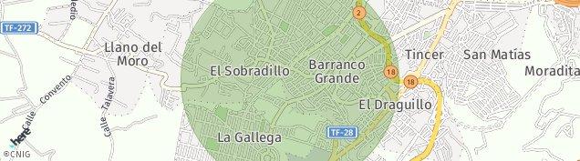 Mapa El Sobradillo