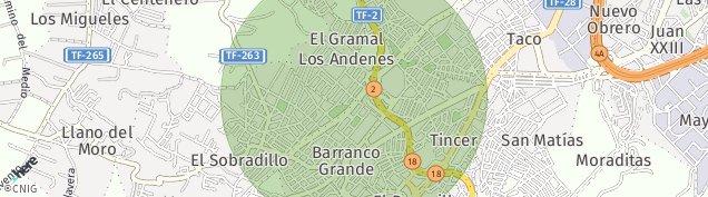Mapa Los Andenes