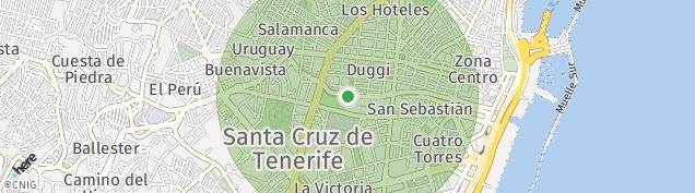 Mapa Santa Cruz de Tenerife
