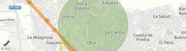 Mapa La Cuesta