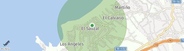 Mapa El Sauzal
