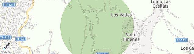 Mapa San Cristóbal de La Laguna