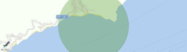 Mapa Las Gaviotas