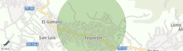 Mapa Tejina