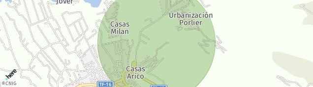Mapa Bajamar