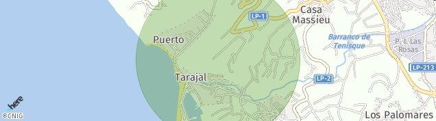 Mapa Tazacorte