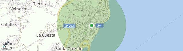 Mapa Santa Cruz de la Palma