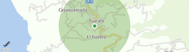 Mapa Tijarafe