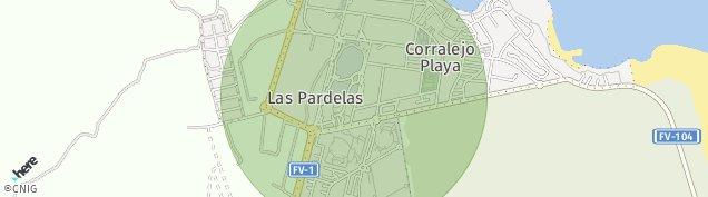 Mapa Corralejo