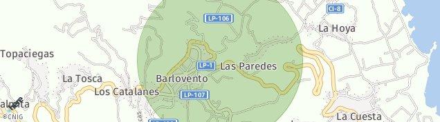 Mapa Barlovento