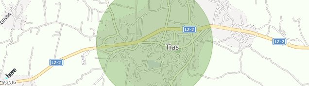 Mapa Tías