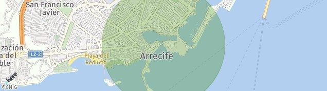 Mapa Arrecife