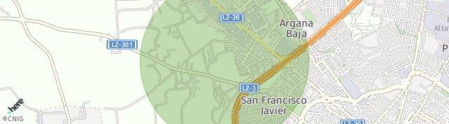 Mapa Playa Playa del Cable