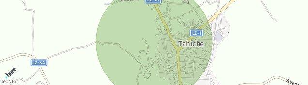Mapa Tahiche