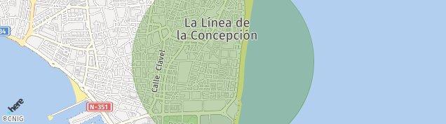 Mapa La Línea de la Concepción