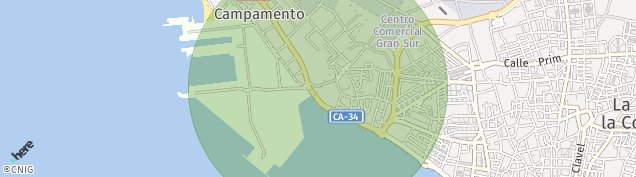 Mapa Campamento