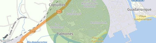 Mapa Palmones