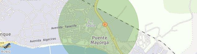 Mapa Puente Mayorga