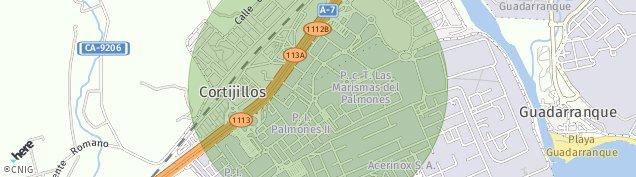 Mapa Los Cortijillos