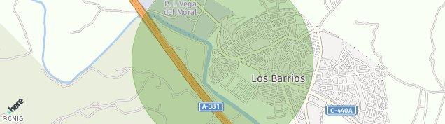 Mapa Los Barrios