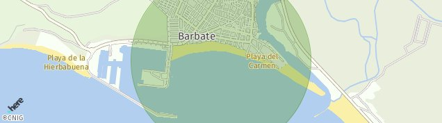 Mapa Barbate