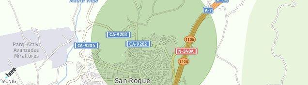 Mapa San Roque