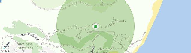 Mapa La Alcaidesa