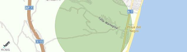 Mapa Alcorrin