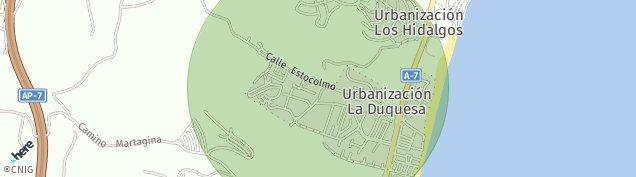 Mapa La Chullera