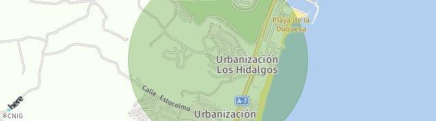 Mapa Castillo de La Duquesa