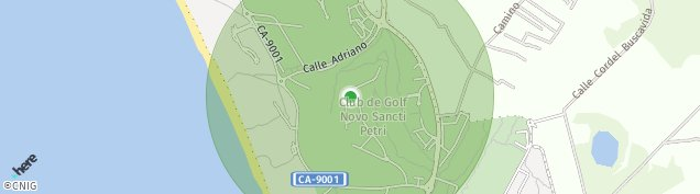 Mapa Campano