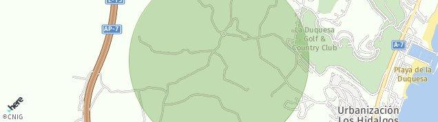 Mapa Honda Cavada