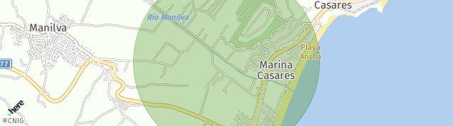 Mapa San Luis de Sabinillas