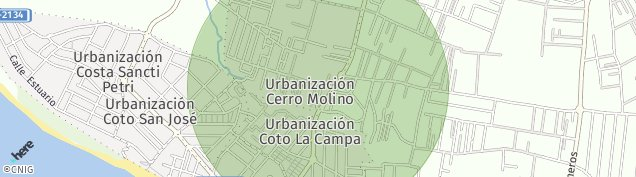 Mapa Doña Violeta