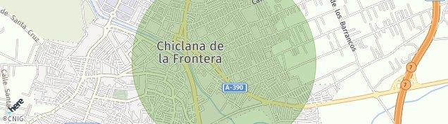 Mapa Chiclana de la Frontera